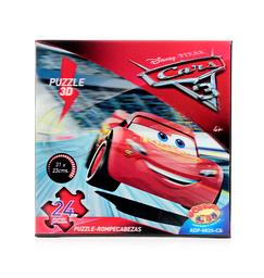Rompecabezas 3D 24Pzs Cars3