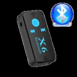 Receptor x6 de audio con Bluetooth micrófono-Recibe llamadas-
