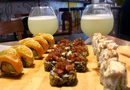 ✨ Super Combo 3 Rollos de Sushi + 2 Limonadas