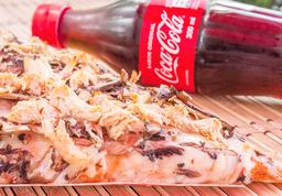 🍕Porción de Pizza + Coca-Cola 300 Ml
