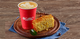 Torta de Choclo + cappuccino 260 ml