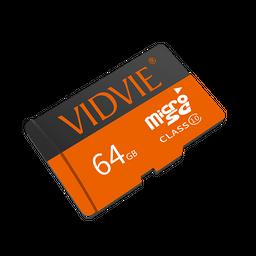 Memoria Micro Sd 64Gb VIDVIE