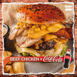 Hamburguesa Beef Chicken