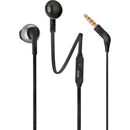 Audifonos Jbl Headphone Jbl T205 Wired In-Ear Black