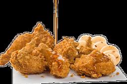 Pollo Frisby Apanado Arepas