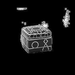 Caja Decorativa Negra