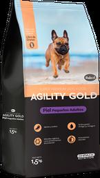 Agility gold piel pequeños adultos 1.5kg