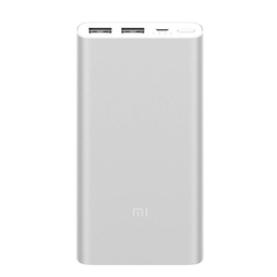 Batería portable 10.000 mAh Xiaomi Mi Power bank 18W - Plateado