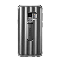 Carcasa Galaxy S9 Samsung Protective Standing Cover - Plateado