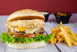 Beef & Llopo Burger