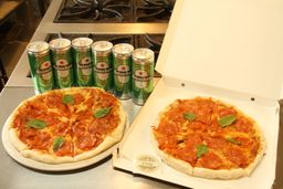 🍕 Combo Pizzas y Cerveza