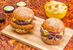 🍔🍟Combo Dupla Burger Master 10% Dto