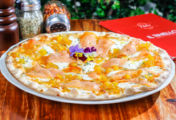 Pizza Salmone e Ananas
