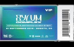Boleta Sylum Complex VIP