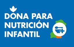 Dona para nutrición infantil