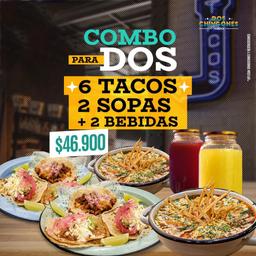 Combo Tacos Sopa para 2