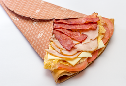 Combo Crepe Jamón y Queso
