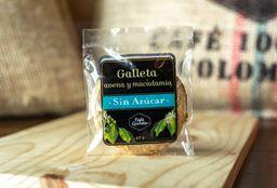 Galletas Avena y Macadamia Sin Azúcar
