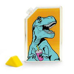 Botella de agua plana rex