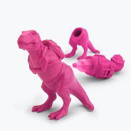Resaltador t-rex rosado