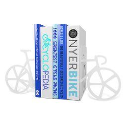 Sujeta libros bicicleta
