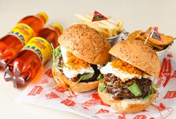 Combo Hamburguesas Burger Master Gran Torino