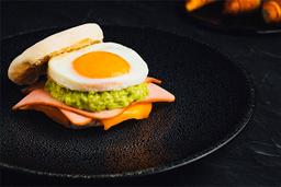 Turkey & Avocado Egg Muffin