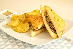 Sandwich Solomito Stroganoff