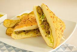 Sandwich Solomito Mostaza Gruyere