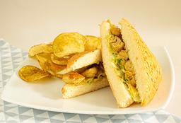 Sandwich Pollo Miel Mostaza
