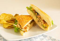 Sandwich Pollo Hawaiano