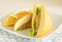 Sandwich Salmón Ahumado