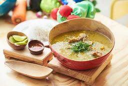 Totuma Guandú con Carne Salada (Fin de Semana)