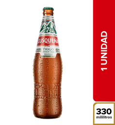 Cerveza Cusqueña Trigo - Botella 330ml x1