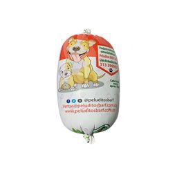 Natural barf peluditos pollo/ternera 300 gr