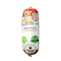 Natural barf peluditos pollo/ternera 600 gr