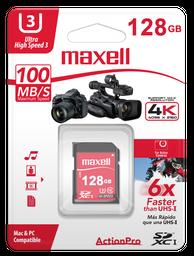 Maxell Memoria Sd 128Gb Action Pro Class 10 Sdxc