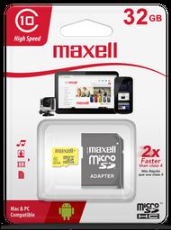 Maxell Memoria Mcsd 32Gb Class 10