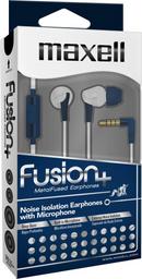 Maxell Audifo Fusion+ Fus-9 C/Mic Damask Navy/Blanco