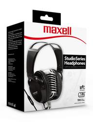 Maxell Audifo Studio St-2000 C/Microf Black