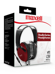Maxell Audifo Studio St-2000 C/Microf Red