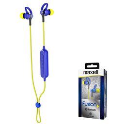 Maxell Audifo Fusion+ Eb-Btfus9 Bluetooth Aqua