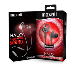 Maxell Audifo Eb-Bt Halo Bluetooth Grey