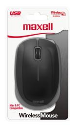 Maxell Mouse Mowl-100 Black Inalambrico 1200 Dpi