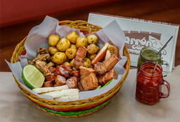 Chicharrón, Chorizo y Chunchurria