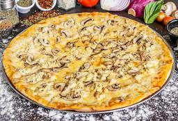 Pizzeta Personal (20 cms) Pollo & Champiñones