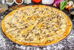 Pizza Mediana (30 cms) Pollo & Champiñones