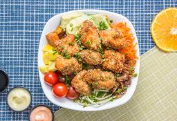 Poke 'I'o Moa Palai 🍚+ Una porcion promocional  de pollo 🍗