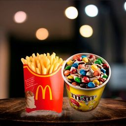 Papas Grandes + McFlurry™ M&M