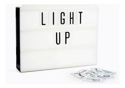 Cartel Luminoso Letras Cinebox Bateria